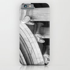 Classical marble columns in black and white Slim Case iPhone 6s