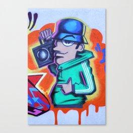 80s B-Boy Canvas Print