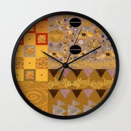 My Klimt Wall Clock