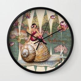 Slow Ride Wall Clock