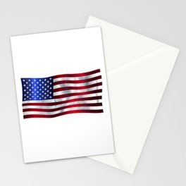 Old Glory Flag Stationery Cards