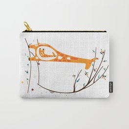 Pregnant Giraffe Carry-All Pouch
