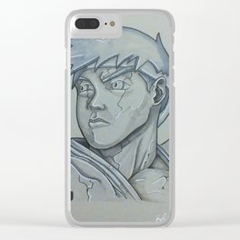 ryu stone Clear iPhone Case