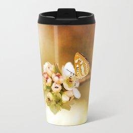Blooms and Butterflies Travel Mug
