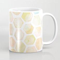 Bee and honeycomb watercolor Mug