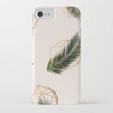 Palm + Geometry #society6 #decor #buyart iPhone 7 Slim Case