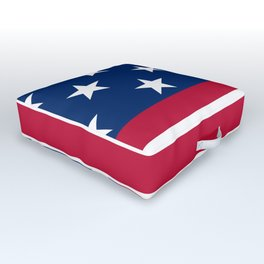 US Flag Outdoor Floor Cushion