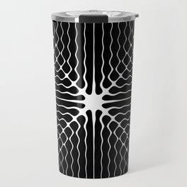 Energy Vibration 6. Frequency - Chladni - Cymatics Travel Mug