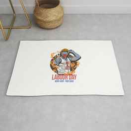 Labour Day 1 May Day New Vector Rug