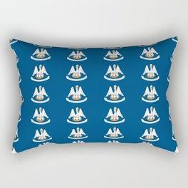 flag of Lousiana 2-Louisiana,new orleans,jazz,french,cajun,treme,baton rouge,south,Louisianian Rectangular Pillow