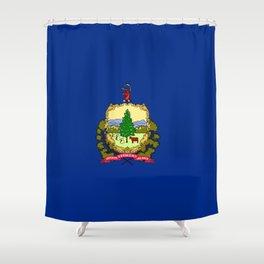 flag vermont,america,usa,Green Mountain,Vermonter, New England,Burlington,Montpelier,Rutland,Barre Shower Curtain