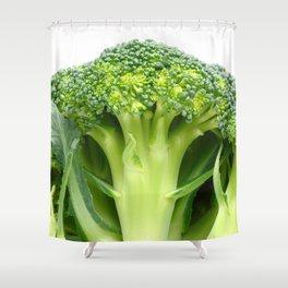 Broccoli Shower Curtain