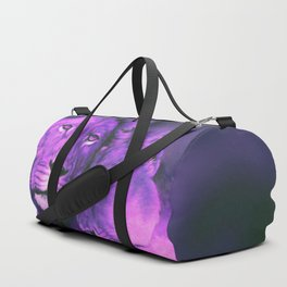 Lions Purple Duffle Bag