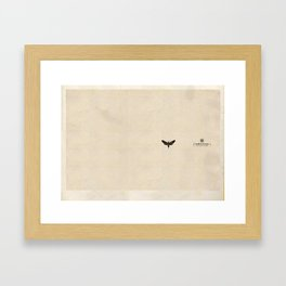 "Smith & Wesson ""moth"" Framed Art Print"