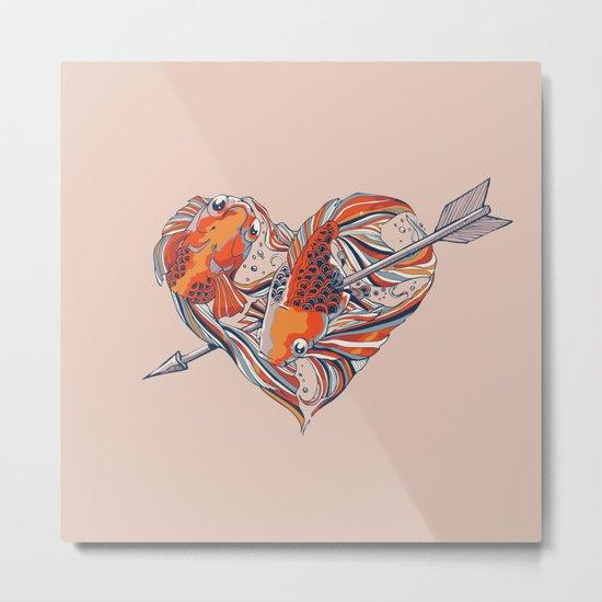 Form of Love Metal Print