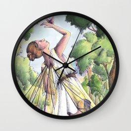 Dancing fairy Wall Clock