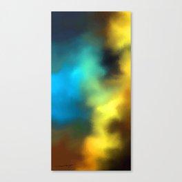 color burst - rising of storm Canvas Print