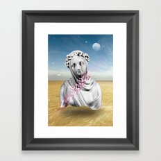 Desert Sculpture Framed Art Print