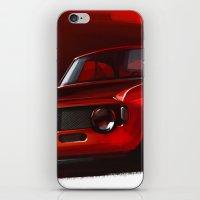 gta iPhone & iPod Skins featuring Alfa Romeo Giulia Sprint 1600 GTA by Vadim Artemyev