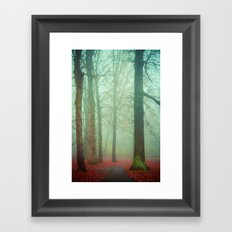 Autumn Wanderlust Framed Art Print