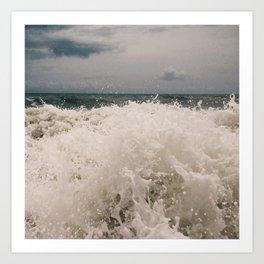 Wabasso Beach Waves 3 Art Print