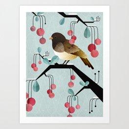 Bird, Watching Art Print
