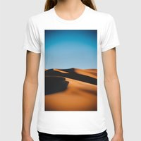 morocco T-shirts featuring Sahara Desert, Morocco by Petrichor Photo