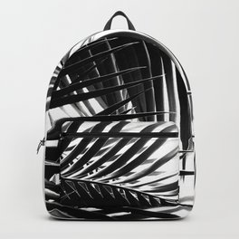 Palm Leaves Black & White Vibes #3 #tropical #decor #art #society6 Backpack