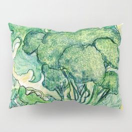 Berries and Broccoli Pillow Sham