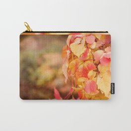 vine red yellow leaves abstract Carry-All Pouch