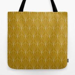 Art Deco Vector in Gold Tote Bag
