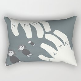The Night of the Hunter - Movie Poster Rectangular Pillow