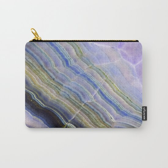 Pastel Onyx Marble II Carry-All Pouch