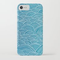 waves iPhone & iPod Cases featuring Waves by Arcturus