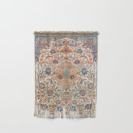 Isfahan Antique Central Persian Carpet Print Wall Hanging