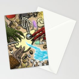 Ouija Monster! Stationery Cards