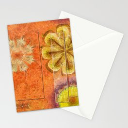Dorsel Trance Flower  ID:16165-115815-42891 Stationery Cards