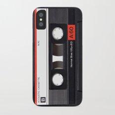 Old School Tape Slim Case iPhone X