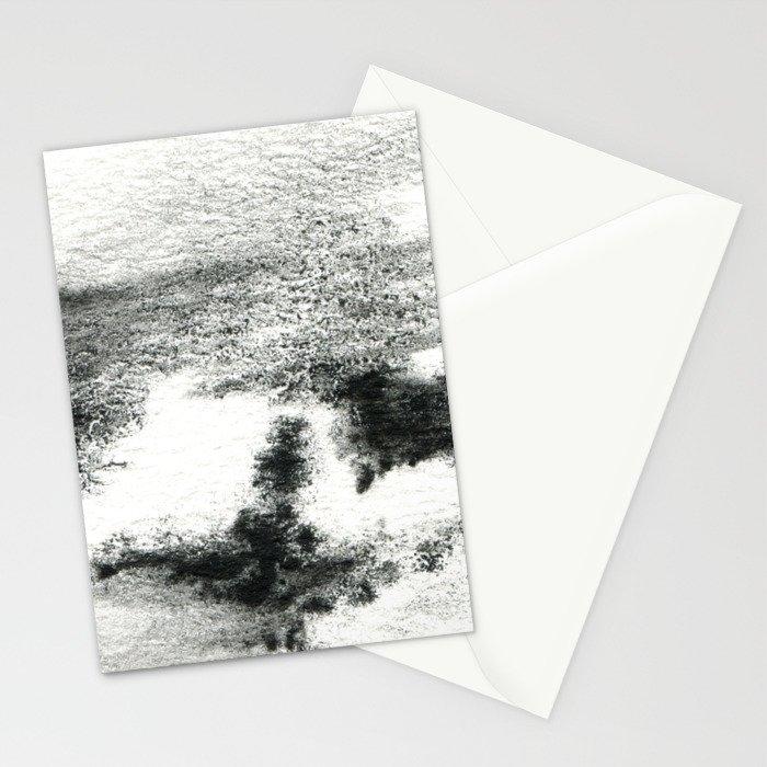 Black/white#2 Stationery Cards
