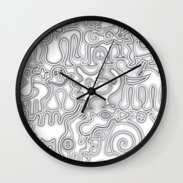 Relief of Unrest Wall Clock