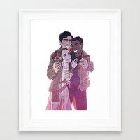 enerjax Framed Art Prints featuring JediStormPilot by enerjax