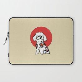 Yakuza Bichon Frise Laptop Sleeve