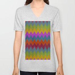 See Saw Color Spread Unisex V-Neck