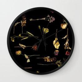 Funeral Singers Wall Clock