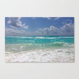 Cancun, Caribbean Canvas Print