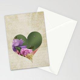 Heartfelt Love Letter & Roses Stationery Cards