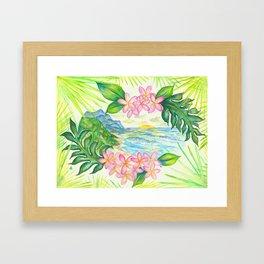 Mount Kilhuea Framed Art Print