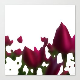 Melted Canvas Print