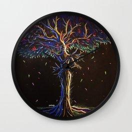 Tree Goddess Wall Clock