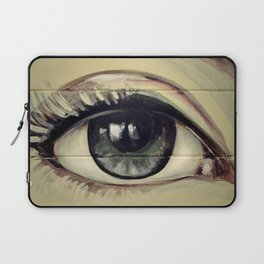 Eyes are Windows to the Soul Laptop Sleeve